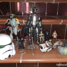 Figuras y Muñecos Star Wars: LOTE MERCHANDISHING STAR WARS.FIGURAS Y NAVES.. Lote 189476283