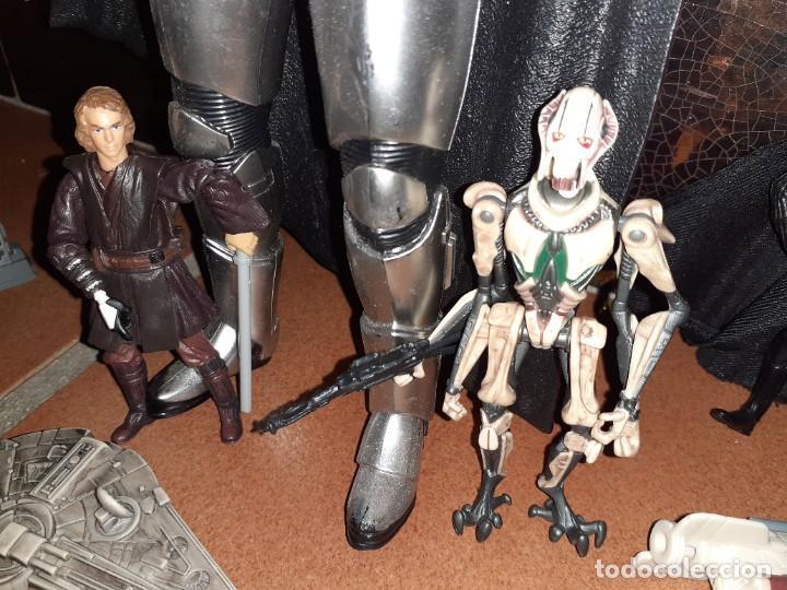 Figuras y Muñecos Star Wars: Lote merchandishing Star Wars.Figuras y naves. - Foto 7 - 189476283