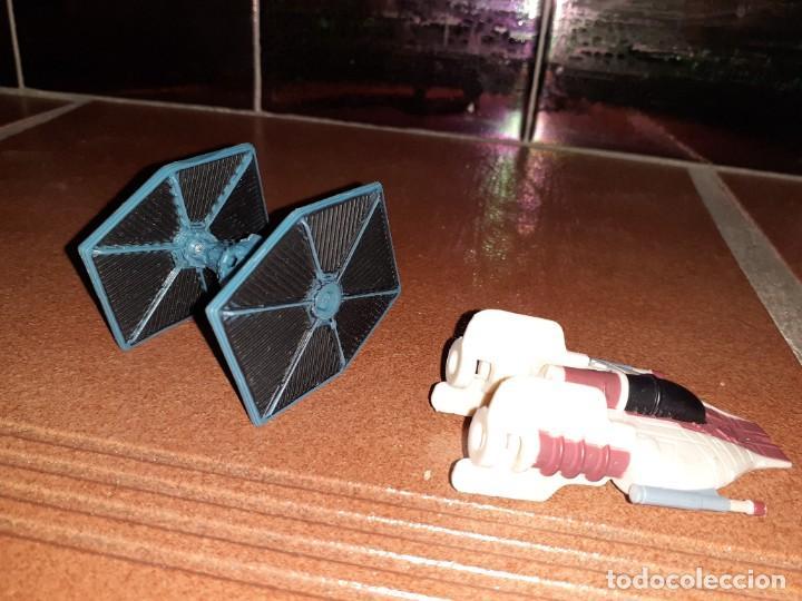 Figuras y Muñecos Star Wars: Lote merchandishing Star Wars.Figuras y naves. - Foto 11 - 189476283