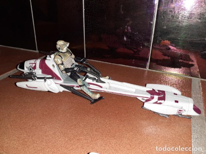 Figuras y Muñecos Star Wars: Lote merchandishing Star Wars.Figuras y naves. - Foto 12 - 189476283