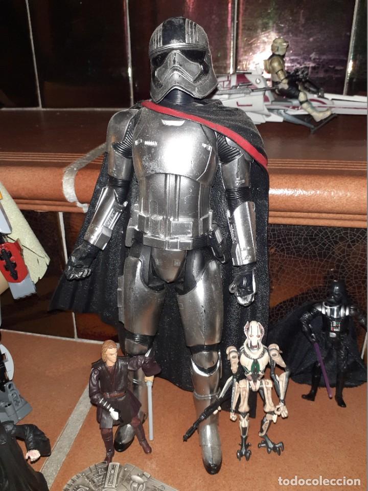 Figuras y Muñecos Star Wars: Lote merchandishing Star Wars.Figuras y naves. - Foto 14 - 189476283