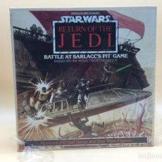 Figuras y Muñecos Star Wars: JUEGO DE MESA VINTAGE - EL RETORNO DEL JEDI - BATTLE AT SARLACC`S PIT GAME - PARKER BROTHERS. Lote 189571648