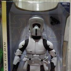 Figuras y Muñecos Star Wars: STAR WARS BIKER SCOUT 2003 12 PULGADAS RETORNO DEL JEDI. Lote 189716341