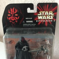 Figuras y Muñecos Star Wars: DARTH MAUL WITH SITH INFILTRATOR - STAR WARS - EPISODIO I - 1999. Lote 190003881