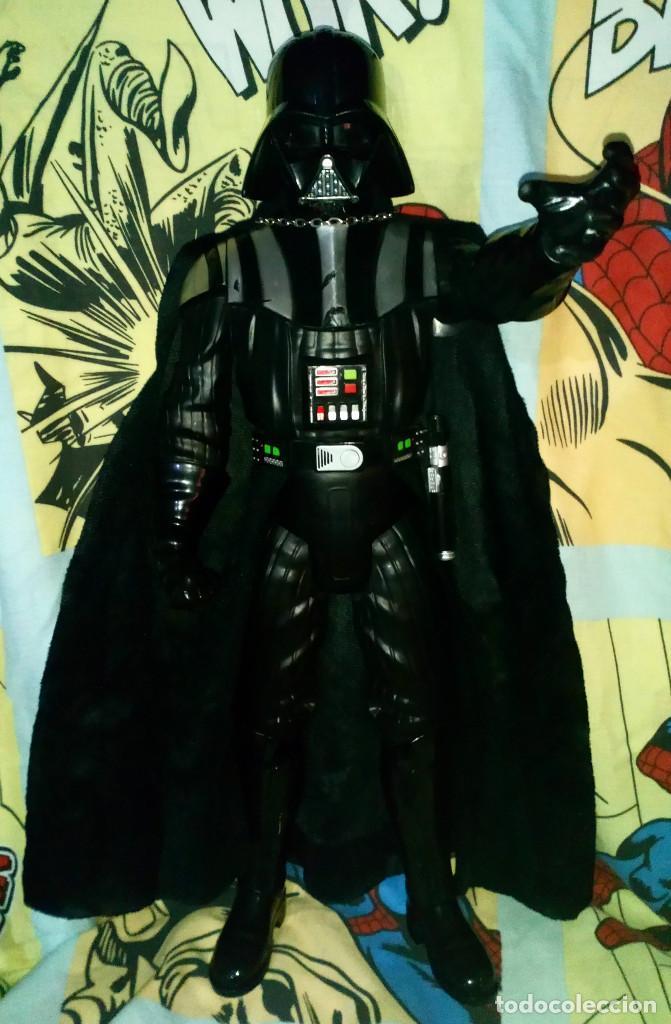 FANTASTICA FIGURA TAMAÑO GRANDE DE DARTH VADER DE STAR WARS, MIDE 50 CM - JAKKS PACIFIC - 2014 (Juguetes - Figuras de Acción - Star Wars)