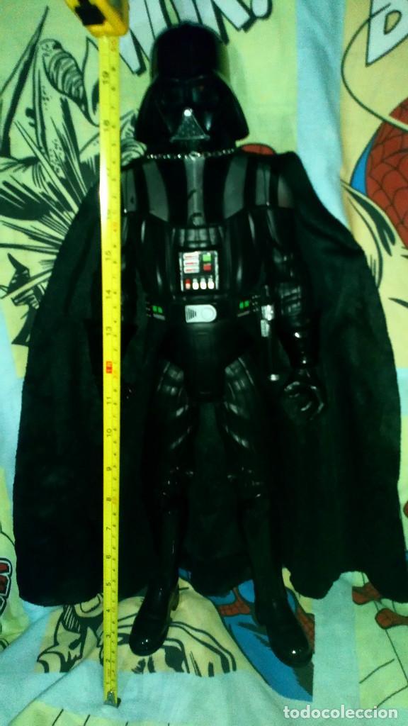 Figuras y Muñecos Star Wars: FANTASTICA FIGURA TAMAÑO GRANDE DE DARTH VADER DE STAR WARS, MIDE 50 CM - JAKKS PACIFIC - 2014 - Foto 2 - 190092363