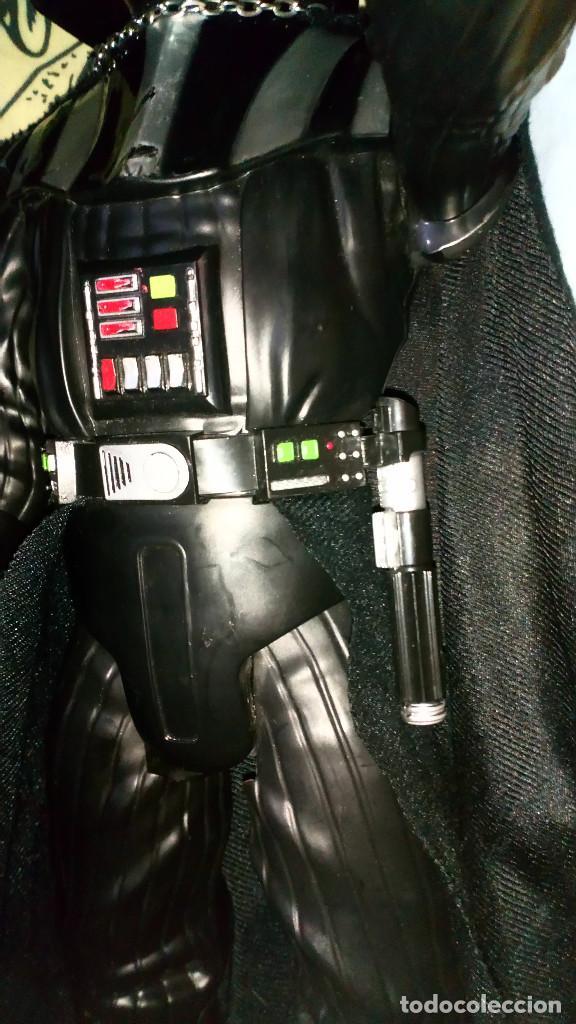 Figuras y Muñecos Star Wars: FANTASTICA FIGURA TAMAÑO GRANDE DE DARTH VADER DE STAR WARS, MIDE 50 CM - JAKKS PACIFIC - 2014 - Foto 5 - 190092363