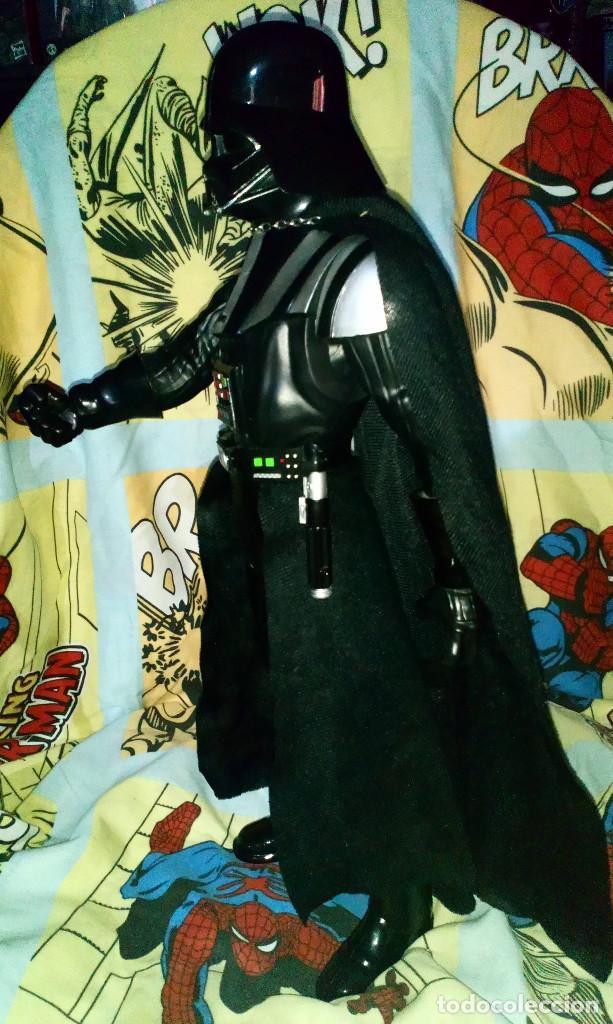 Figuras y Muñecos Star Wars: FANTASTICA FIGURA TAMAÑO GRANDE DE DARTH VADER DE STAR WARS, MIDE 50 CM - JAKKS PACIFIC - 2014 - Foto 9 - 190092363
