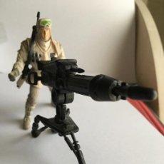 Figuras y Muñecos Star Wars: STAR WARS. SOLDADO REBELDE CON CAÑÓN DE LA BATALLA DE HOTH. JUGADO POR MI HIJO.. Lote 190547928