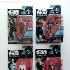 Figuras y Muñecos Star Wars: LOTE 4 FIGURAS, STAR WARS ROGUE ONE - LEER DETALLE!!! - AÑO 2016 - ERICTOYS. Lote 190600200
