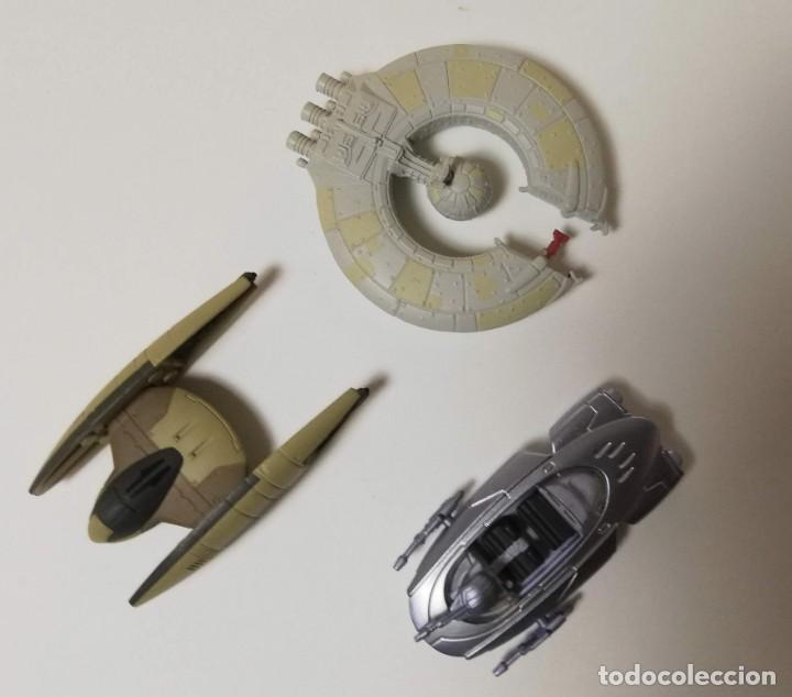 Figuras y Muñecos Star Wars: Naves de Star Wars y Control de Droides - Foto 3 - 190779638