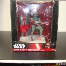 Figuras y Muñecos Star Wars: BOBA FETT STAR WARS HAND -CRAFTED FABRICHE. Lote 190937770