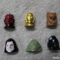 Figuras y Muñecos Star Wars: LOTE 6 WIKKEEZ STAR WARS . Lote 191003738