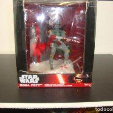 Figuras y Muñecos Star Wars: BOBA FETT STAR WARS HAND -CRAFTED FABRICHE. Lote 191040782