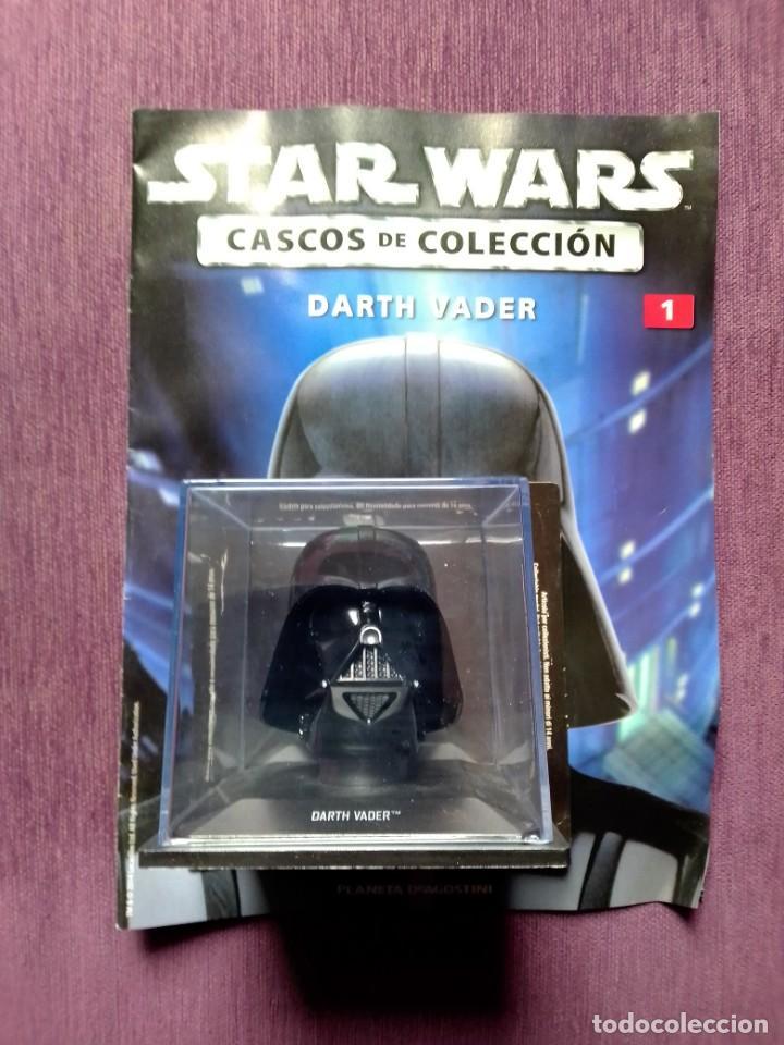 STAR WARS CASCOS DE COLECCIÓN 1 DARTH VADER (Juguetes - Figuras de Acción - Star Wars)