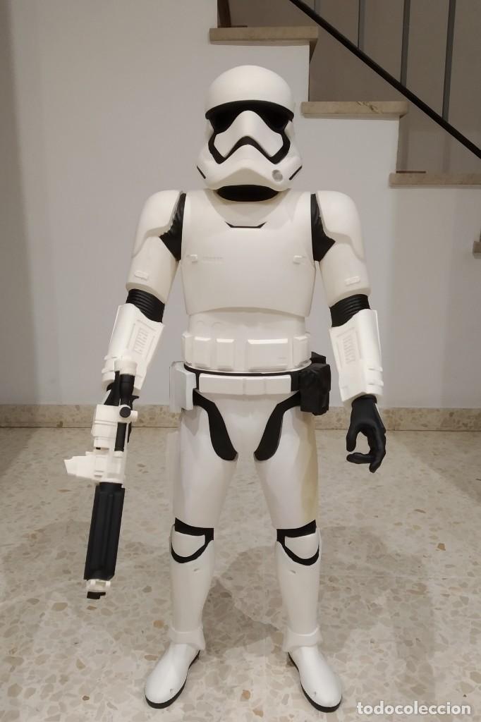 ENORME FIGURA STORMTROOPER -JAKKS PACIFIC- 80 CMS, STAR WARS: EL DESPERTAR DE LA FUERZA (Juguetes - Figuras de Acción - Star Wars)