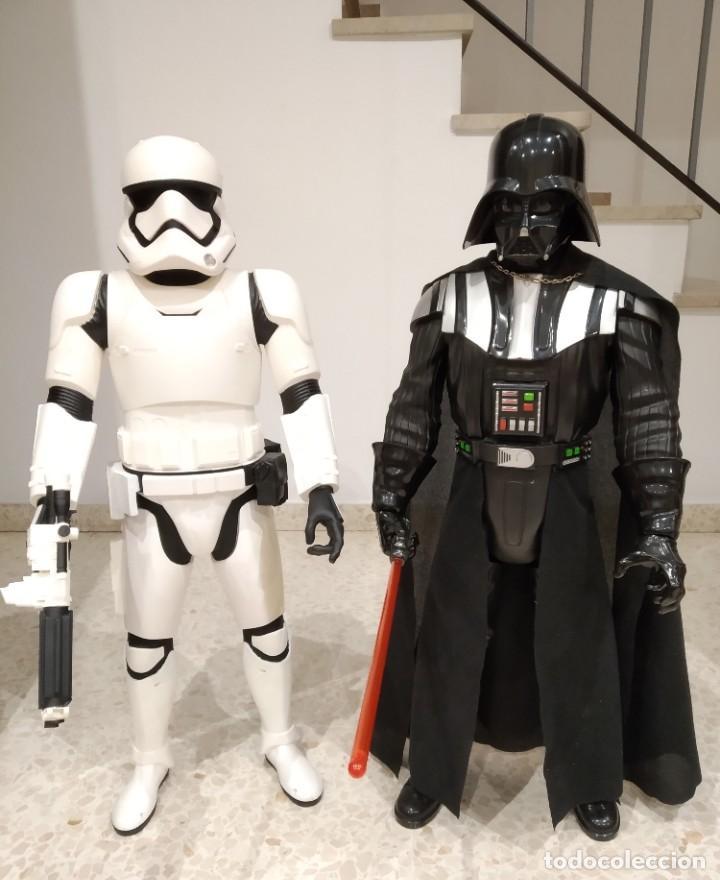 Figuras y Muñecos Star Wars: ENORME FIGURA STORMTROOPER -JAKKS PACIFIC- 80 CMS, STAR WARS: EL DESPERTAR DE LA FUERZA - Foto 14 - 191642287