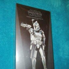 Figuras y Muñecos Star Wars: STAR WARS FIGURA CLONE COMMANDER WOLFFE 104TH BATTALION SIDESHOW. Lote 191659118
