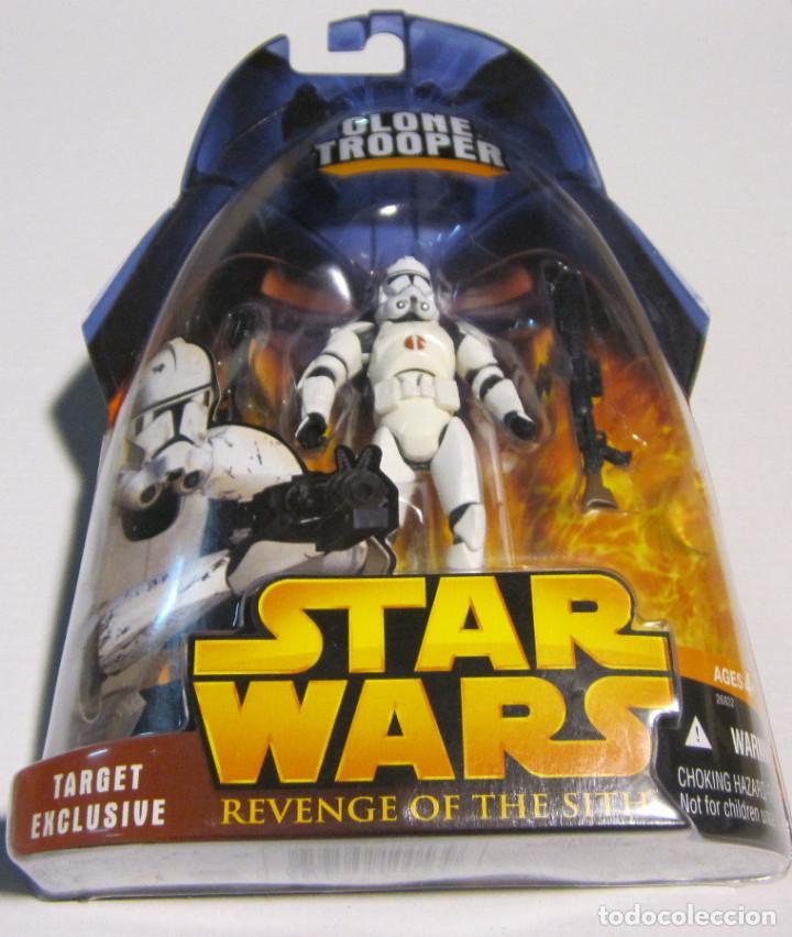 Figuras y Muñecos Star Wars: Star Wars Target Exclusive Clone Trooper Action Figure - NUEVA A ESTRENAR - Foto 2 - 191885605