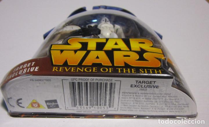 Figuras y Muñecos Star Wars: Star Wars Target Exclusive Clone Trooper Action Figure - NUEVA A ESTRENAR - Foto 3 - 191885605