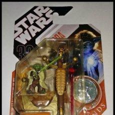 Figuras y Muñecos Star Wars: STAR WARS # YODA # 30TH ANIVERSARIO, SAGA LEGENDS, NUEVO EN SU BLISTER ORIGINAL DE HASBRO. Lote 191938391