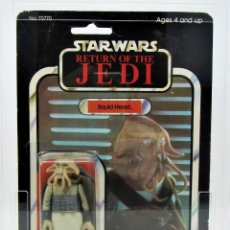 Figuras y Muñecos Star Wars: STAR WARS KENNER VINTAGE SQUID HEAD 77 BACK BLISTER 20001001. Lote 192140650