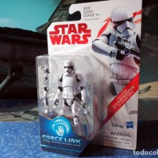 Figuras y Muñecos Star Wars: STAR WARS STORMTROOPER PRIMERA ORDEN FORCE LINK - COLECCIÓN NARANJA HASBRO (2017) - NUEVO. Lote 192682652