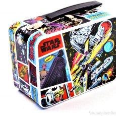 Figuras y Muñecos Star Wars: MINI CAJA DE ALMACENAMIENTO STAR WARS COMIC STRIP - 14CM X 11CM X 7CM - NUEVA SIN USO. Lote 193022776