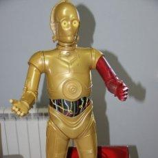 Figurines et Jouets Star Wars: STAR WARS JAKKS PACIFIC C-3PO BIG FIGS FIGURA GRANDE - 79.CM ALTO APROX. Lote 193022996
