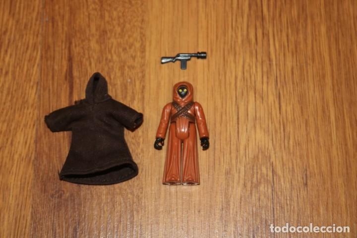 Figuras y Muñecos Star Wars: Figura acción vintage Star Wars Kenner Jawa completo 1977 GMFGI sin COO first 12 Tatooine - Foto 3 - 119049939
