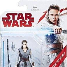 Figuras y Muñecos Star Wars: FIGURA REY(ENTRENAMIENRO JEDI), DE LA SERIE STAR WARS, DE HASBRO. CON ACCESORIOS. NUEVO.. Lote 193640392