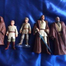 Figuras y Muñecos Star Wars: STAR WARS LUKE Y ANAKIN KENNER EDADES DIFERENTES. Lote 193725712
