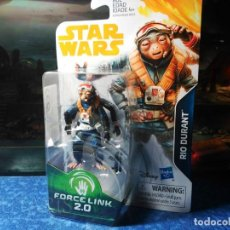 Figurines et Jouets Star Wars: STAR WARS - RIO DURANT - FORCE LINK 2.0 (2018) - SOLO & THE MANDALORIAN. Lote 194062327