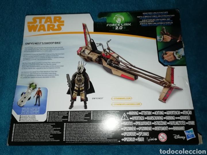 Figuras y Muñecos Star Wars: Star Wars Enfys Nest's Swoop Bike Force Link 2.0 - Foto 4 - 194087930