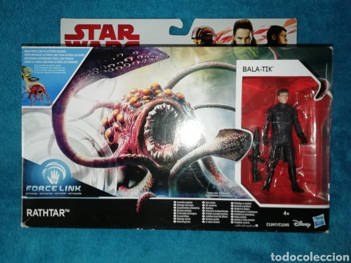 STAR WARS RATHTAR/BALA-TIK FORCE LINK (Juguetes - Figuras de Acción - Star Wars)