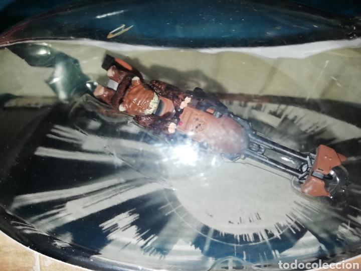 Figuras y Muñecos Star Wars: Star Wars Stolen Imperial Speeder Bike with Paploo - Foto 4 - 194088592