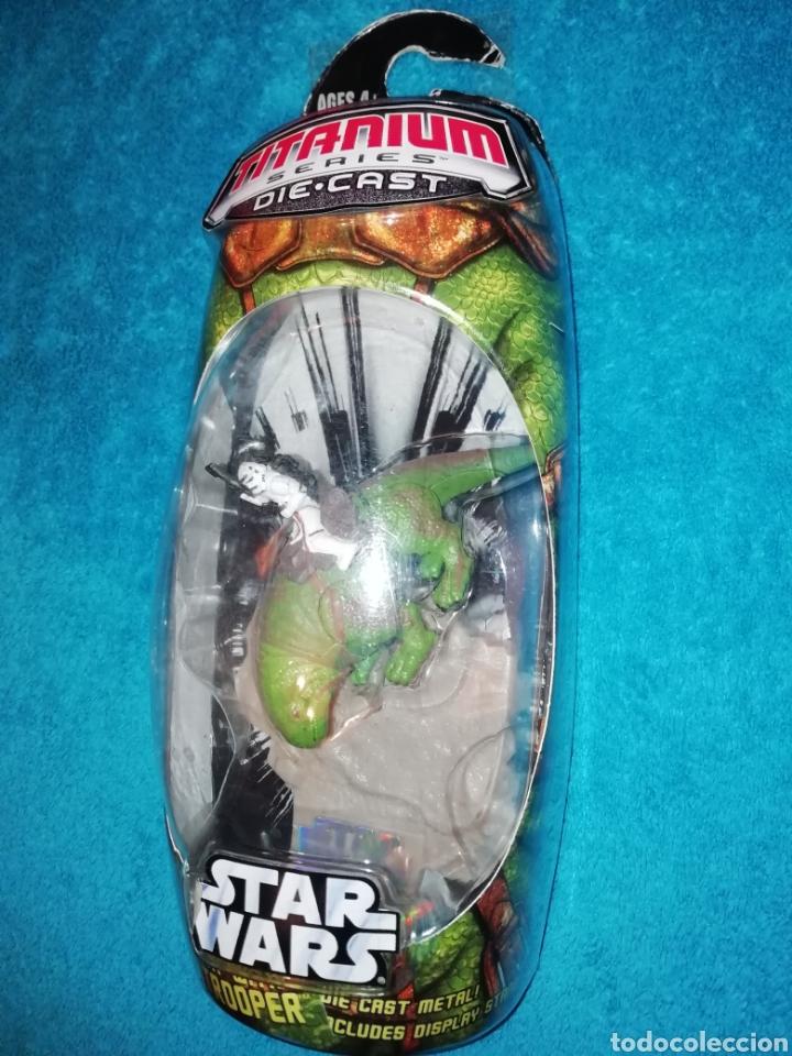 Figuras y Muñecos Star Wars: Star Wars Dewback with Sandtrooper - Foto 2 - 194088856