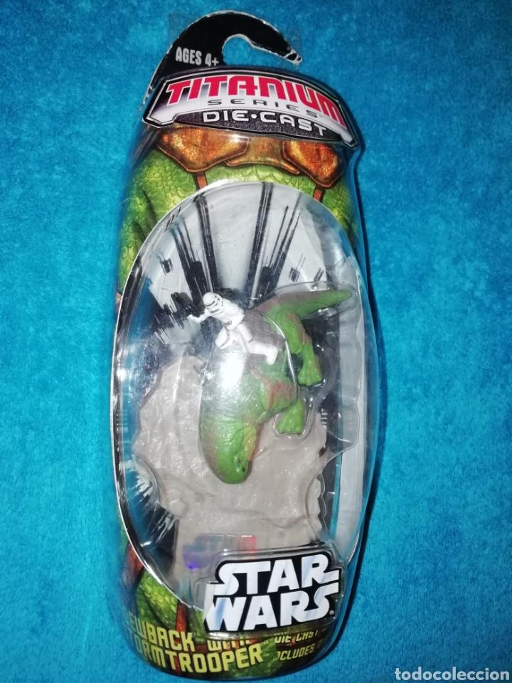 STAR WARS DEWBACK WITH SANDTROOPER (Juguetes - Figuras de Acción - Star Wars)