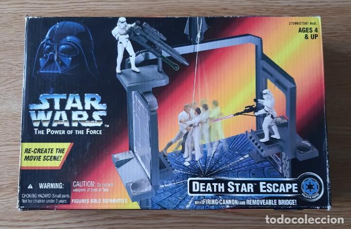FIGURA STAR WARS DEATH STAR ESCAPE POWER OF THE FORCE RED (Juguetes - Figuras de Acción - Star Wars)