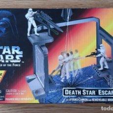 Figuras y Muñecos Star Wars: FIGURA STAR WARS DEATH STAR ESCAPE POWER OF THE FORCE RED. Lote 194218795