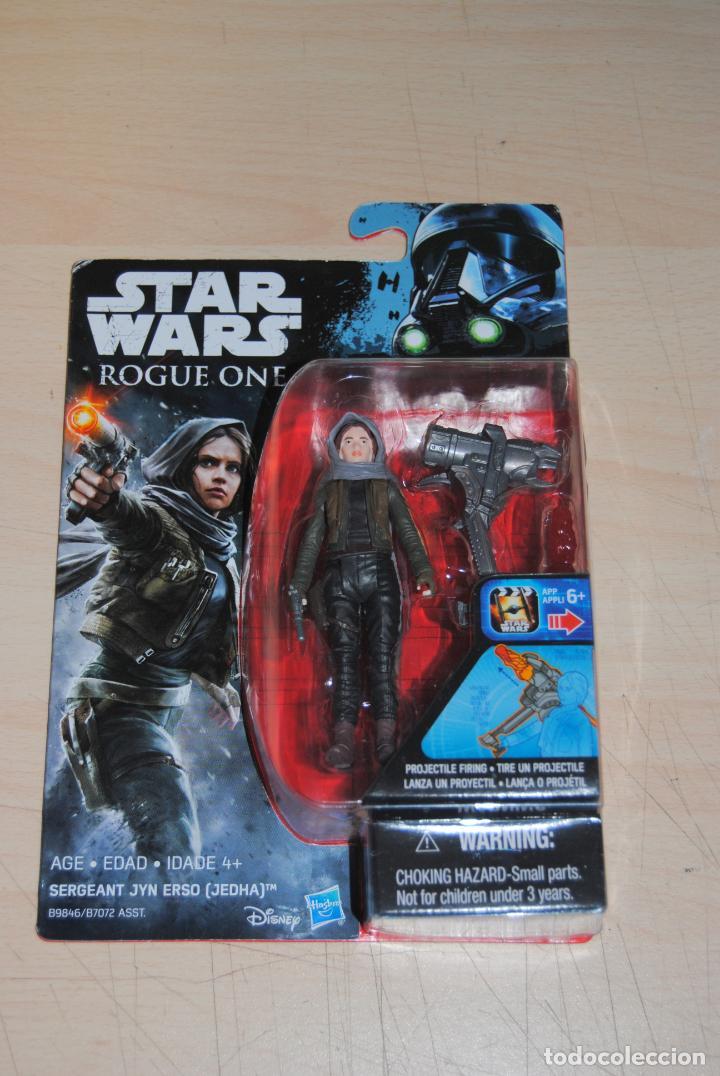 FIGURA STAR WARS ROGUE ONE SERGEANT JYM ERSO HASBRO. SIN USO (Juguetes - Figuras de Acción - Star Wars)