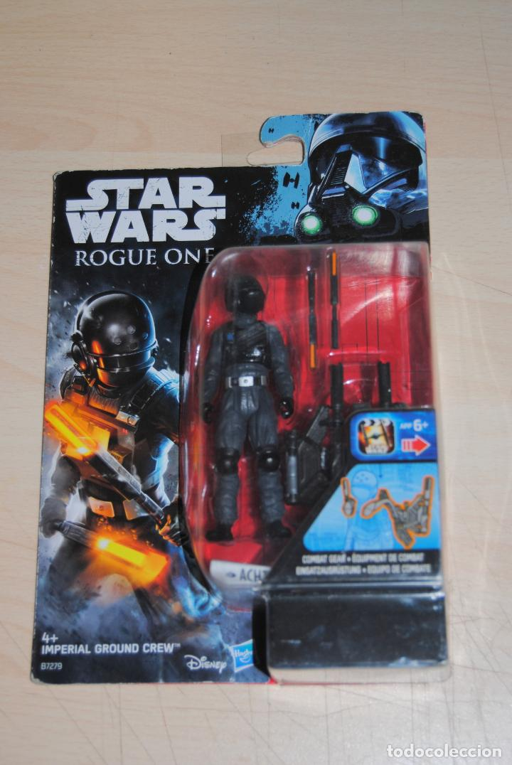 FIGURA STAR WARS ROGUE ONE IMPERIAL GRUND CREW HASBRO. SIN USO (Juguetes - Figuras de Acción - Star Wars)