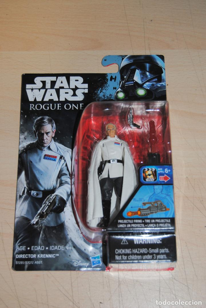 Figuras y Muñecos Star Wars: FIGURA STAR WARS ROGUE ONE DIRECTOR KRENNIC HASBRO. SIN USO - Foto 1 - 194229083