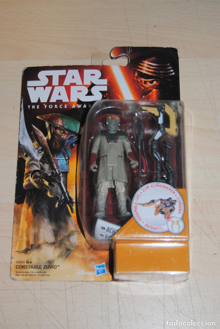 FIGURA STAR WARS THE FORCE AWAKENS CONSTABLE ZUVIO SIN USO (Juguetes - Figuras de Acción - Star Wars)