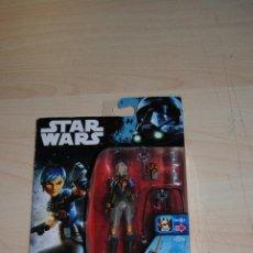 Figuras y Muñecos Star Wars: FIGURA STAR WARS REBELS SABINE WREN . HASBRO . SIN USO. Lote 194229371