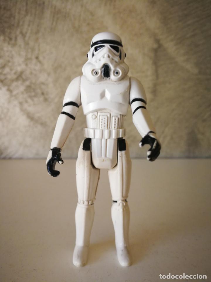 STORMTROOPER STAR WARS VINTAGE GMFGI 1977 NO COO KENNER (Juguetes - Figuras de Acción - Star Wars)