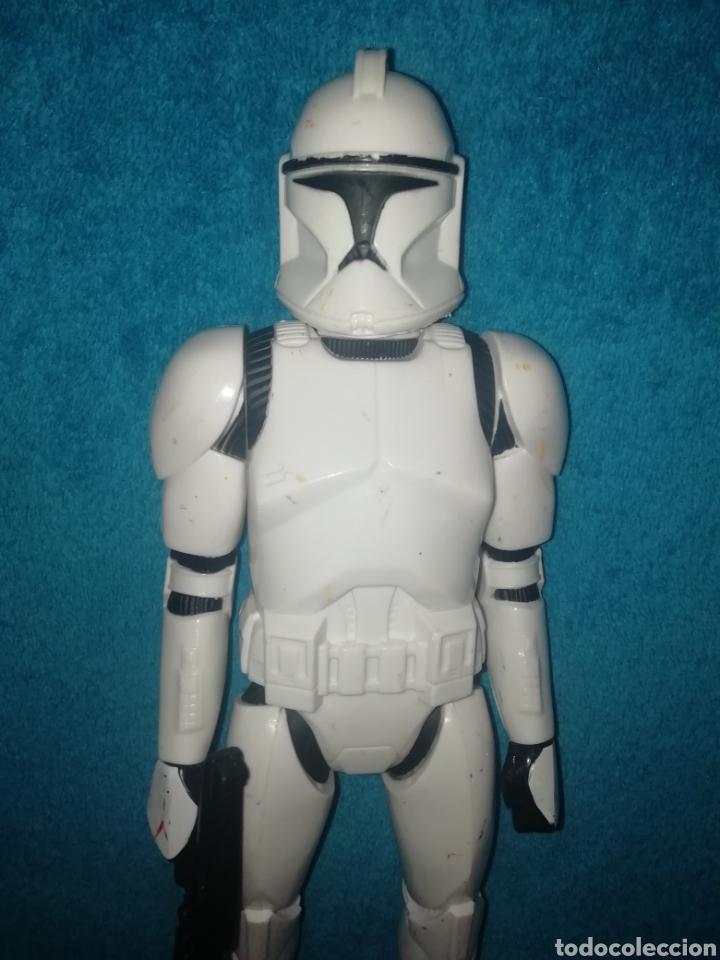 Figuras y Muñecos Star Wars: Star Wars figura Clone Trooper 30 cms - Foto 2 - 194351895