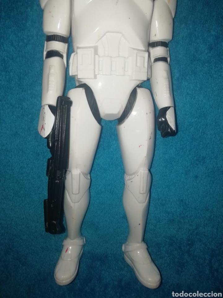 Figuras y Muñecos Star Wars: Star Wars figura Clone Trooper 30 cms - Foto 3 - 194351895