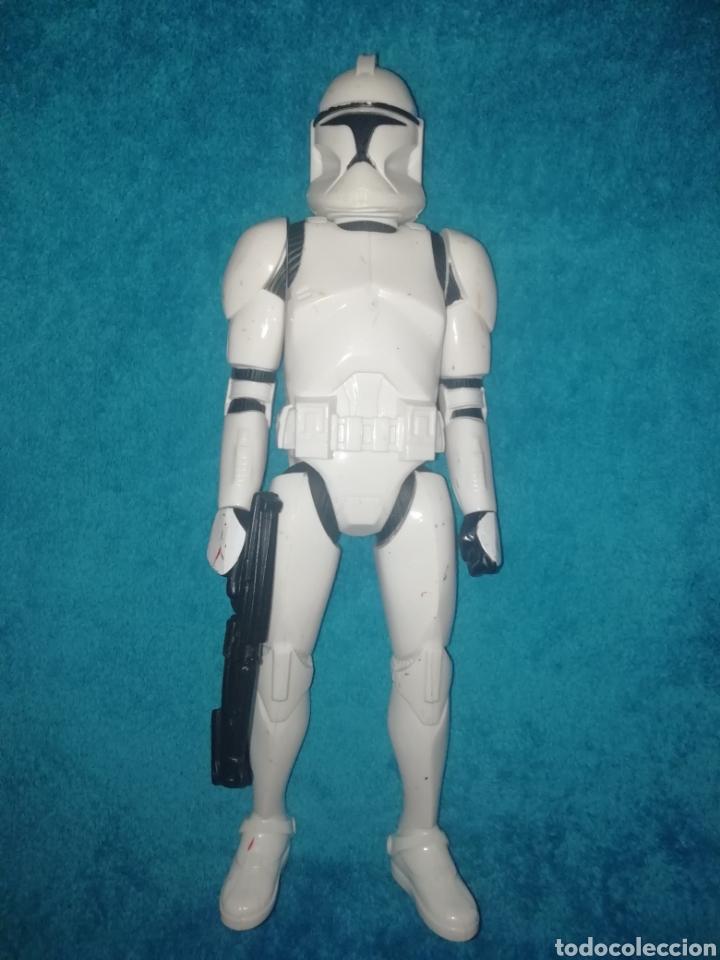 STAR WARS FIGURA CLONE TROOPER 30 CMS (Juguetes - Figuras de Acción - Star Wars)