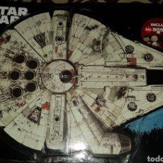 Figuras y Muñecos Star Wars: HALCÓN MILENARIO BUSTZ STAR WARS CARREFOUR PRECINTADO COLECCIÓN COMPLETA. Lote 194354980
